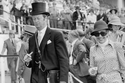 1975: At the Epsom Derby