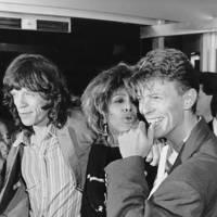With Mick and Tina