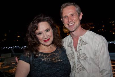 Harriet Thorpe and Ian Hallard