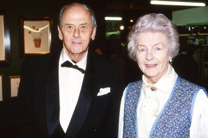 The Duke of Devonshire and the Duchess of Devonshire