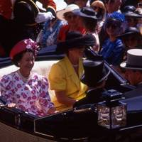 Princess Margaret and The Duchess of York