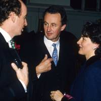 Lord Robin Innes-Ker, the Duke of Roxburghe and Dr Catherine Pelly