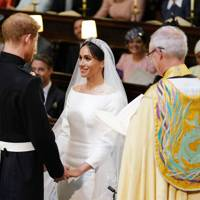 Prince Harry, Meghan Markle and Justin Welby