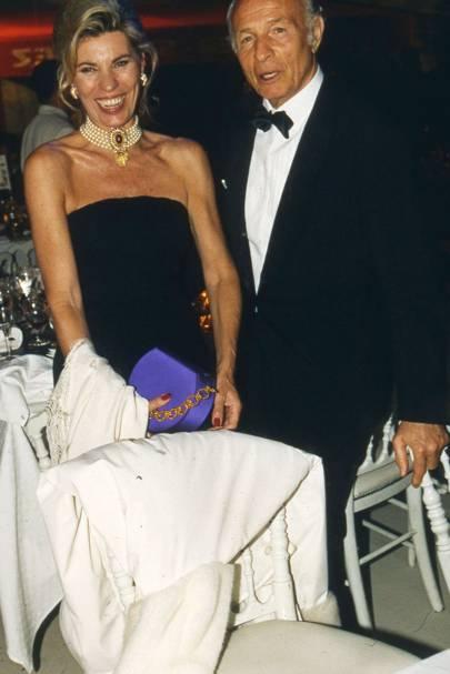 Michelle Givauden and Sergio Mendgezze