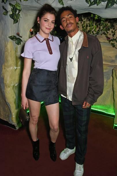 Amber Anderson and Jordan Stephens
