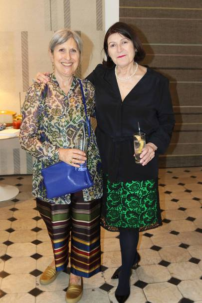 Caroline Burstein and Christine Van Der Hurd