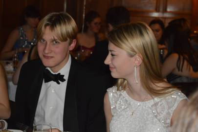 Josh Curtis and Issy Mitchell
