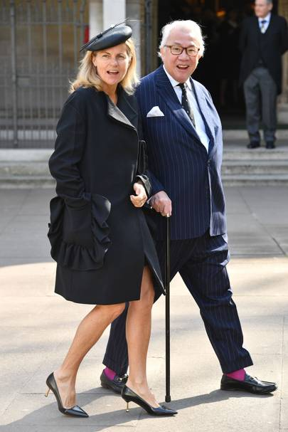 Lady Tang and Sir David Tang, 2017