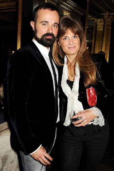 Evgeny Lebedev and Jemima Khan