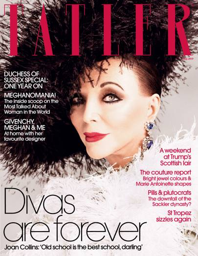Joan Collins is our May cover star