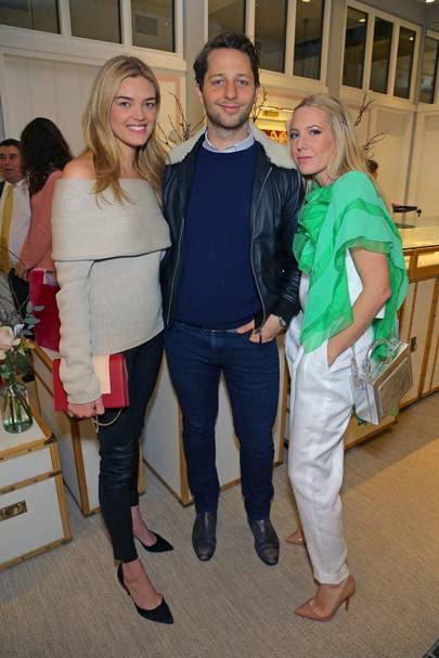 Allie Michler, Derek Blasberg and Alice Naylor-Leyland