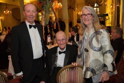 Andrew Witkowski, Tony Fordham and Barbara Fordham