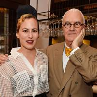 Charlotte Dellal and Manolo Blahnik