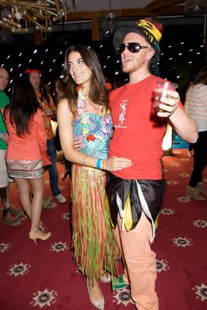 Francesca North and Will North