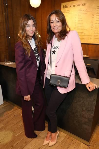 Sara MacDonald and Tricia Ronane
