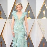 Cate Blanchett wearing Armani Privé in 2016