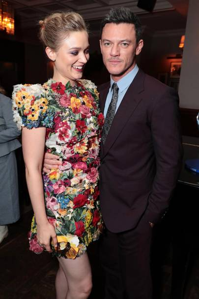 Bella Heathcote and Luke Evans