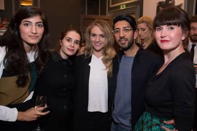 Arta Ghanbari, Florence Rolfe, Emily Senior, Talib Choudhry and Gabby Deeming