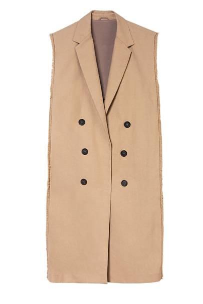 Cotton coat, £1,690, by Brunello Cucinelli