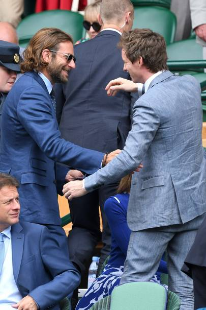 Bradley Cooper and Eddie Redmayne
