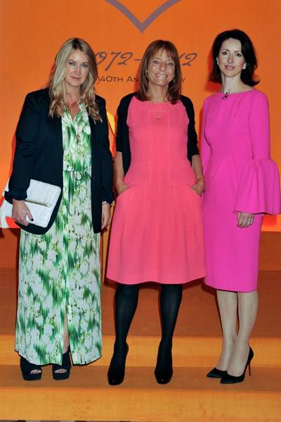 Anya Hindmarch, Lady Rogers and Helena Morrissey