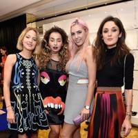 Tess Ward, Ella Eyre, Amber Le Bon and Rosanna Falconer