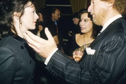 Mrs Edward Fitzgerald, Lili Mahtani and Ed Victor