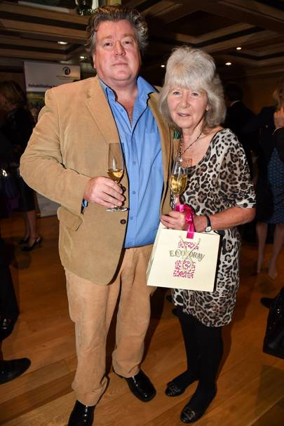 Felix Cooper and Jilly Cooper