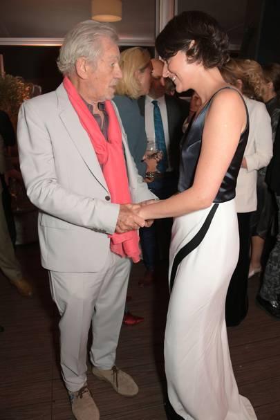 Sir Ian McKellen and Phoebe Waller-Bridge