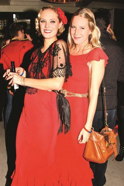 Leah de Wavrin and Alice Dawson