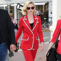 Wearing Gucci out and about at Cannes, 2018