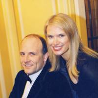 Trevor Jones and Anneka Rice