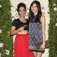 Gemma Chan and Oona Chaplin