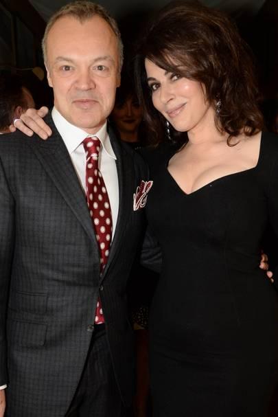 Graham Norton and Nigella Lawson