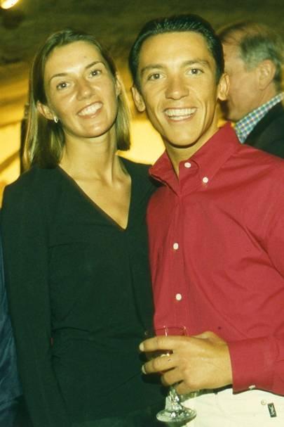Mrs Lanfranco Dettori and Lanfranco Dettori