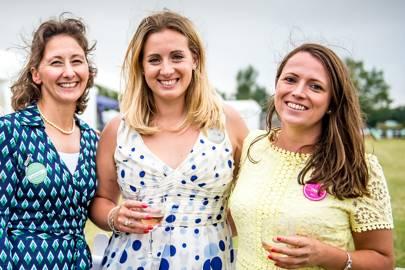 Polly Portwin, Sam Riddington and Camilla Swift
