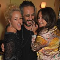 Jaime Winstone, Ara Vartanian and Fran Cutler