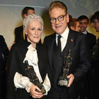 Glenn Close and Sir Kenneth Branagh