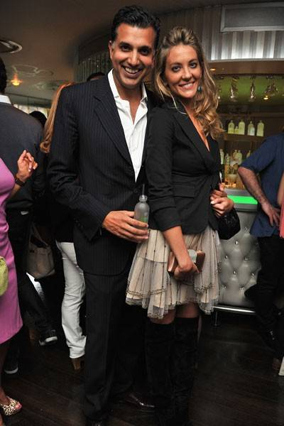 Dino Calvani and Fernessa Fernandes