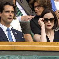 John Dineen and Michelle Dockery