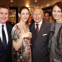Raymond Sykes  Maria Grachvogel, Harold Tillman and Caroline Rush