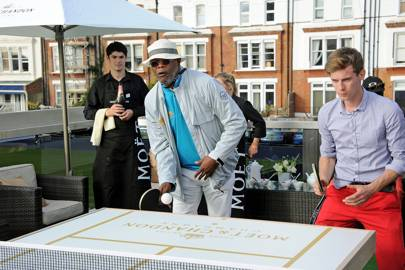 Samuel L Jackson and Luke Treadaway