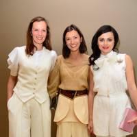 Brita Fernandez Schmidt, Hikari Yokoyama and Eva Lanska