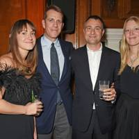 Mary-Clare Elliot, Ben Elliot, Ben Goldsmith and Alice Goldsmith