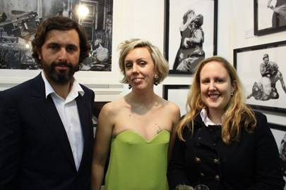 Craig Wylie, Nina Folwer and Rosie Brooks