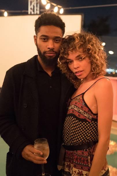 Brandon Nicholson-Wade and Kari Michelle