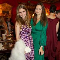 Katie Readman and Lady Natasha Rufus Isaacs