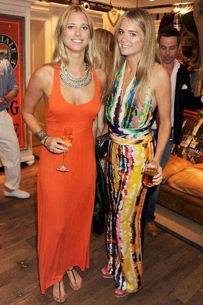 Georgia Forbes and Cressida Bonas