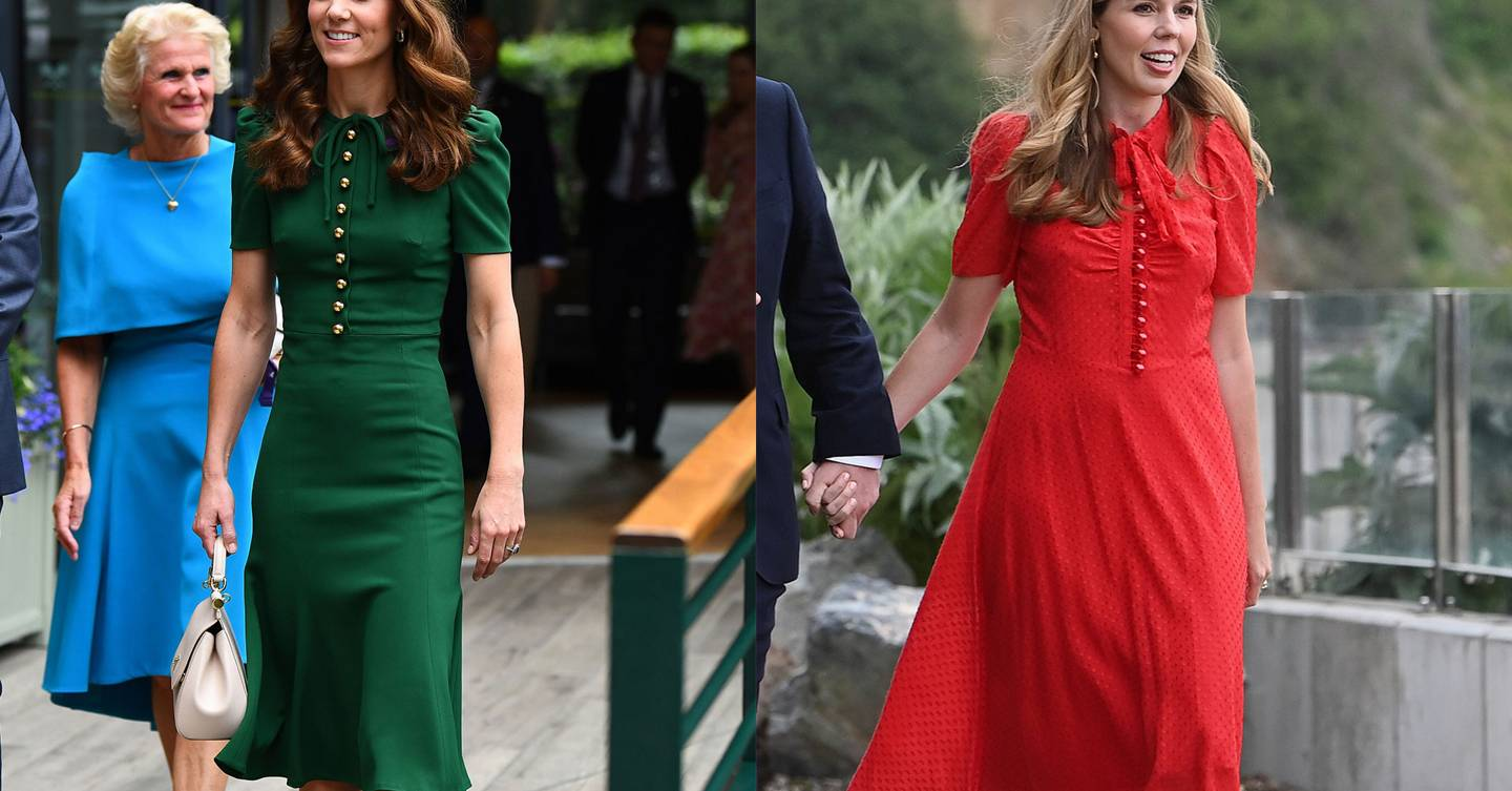 Every time Carrie Johnson borrowed from the Duchess of Cambridge's style book
