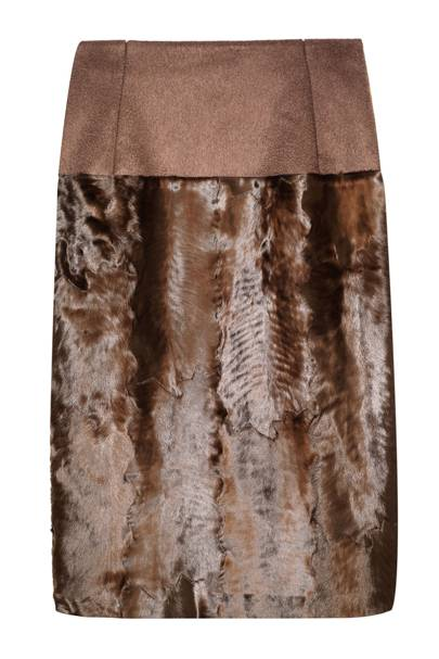 Pencil skirt, £4,170, by Carolina Herrera